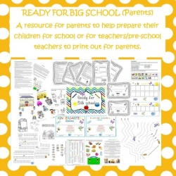 Ready for big school resource for parents