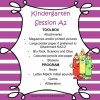Kindergarten Session A Program 2