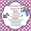 Kindergarten Session B Program 4