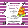 Kindergarten Session C Program 1
