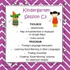 Kindergarten Session C Program 3