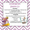 Kindergarten Session C Program 4
