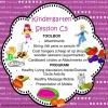 Kindergarten Session C Program 5