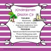 Kindergarten Session C Program 9