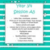 Years 3/4 Session A Program 5