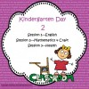 Free Kindergarten Day Plan
