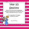 Years 1/2 Sessions A, B & C combined