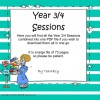 Years 3/4 Sessions A, B & C combined