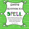 Spelling Activities for K-6