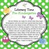 Pre-Kindergarten Literacy Ideas