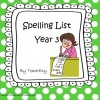 Spelling List Year 3
