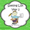 Spelling List Year 2