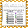 Mini Day Rewards FREE RESOURCE