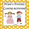 Pirates and Princesses Cutting Skills - Preschool/Kindergarten