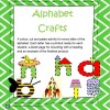 Alphabet Letter Craft: 82 pages
