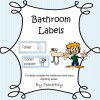 Bathroom Labels Checked: 8 pages