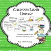 Literacy Labels