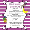 Kindergarten Session A Program 8