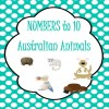 Numbers to 10 Australian Animals Posters: 11 pages
