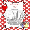 Valentine Cards For Children (B&W): 17 pages