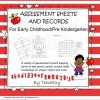 Assessment Sheets and Records - Preschool