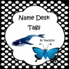 Desk Name Tags Australian Animals