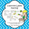 Maths Labels: 22 pages