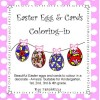 Easter Egg and Card Colouring In