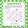 Handwriting Sheets A-Z: 27 pages