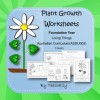 Plant Growth Worksheets