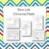 Farm Life Colouring Pages