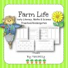 Farm Life Activities Preschool/Kindergarten