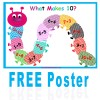 What Makes 10? FREE poster