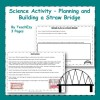 Straw Bridge Building challenge - Science