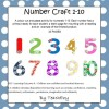 Number Craft Teaching Resource 1-10