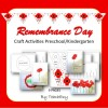 Remembrance Day Craft Preschool & Kindergarten