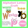 Alphabet Letter Craft Sample