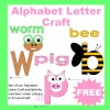 Alphabet Letter Craft Sample
