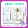 Clock Posters A3 size