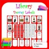 Dewey Decimal System Library Labels and Signs