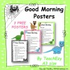 Good Morning Classroom Poster