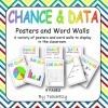 Chance and Data Posters & Word Walls