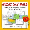 ANZAC Day Gallipoli Maps