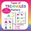 Types of Triangles Posters