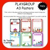 Playgroup Posters - 6 pages FREE
