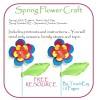 Spring Flower Craft Activity