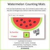 Watermelon Seed Counting Teaching Resource