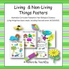 Living and Non-Living Things Posters