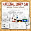 Sorry Day Middle Primary Pack