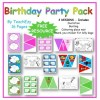 Birthday Party Invitation Pack FREE